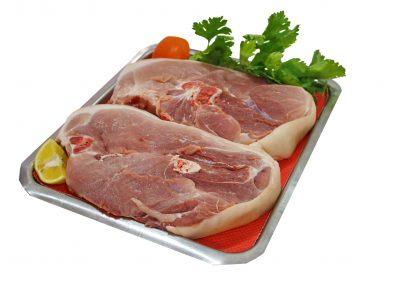 Μπούζι χοιρινό με οστά και δέρμα