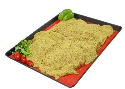 Σνίτσελ κοτόπουλο με σουσάμι