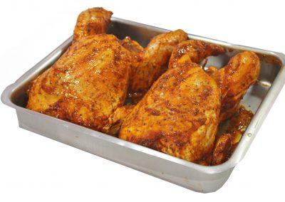 Κοτόπουλο γεμιστό barbeque