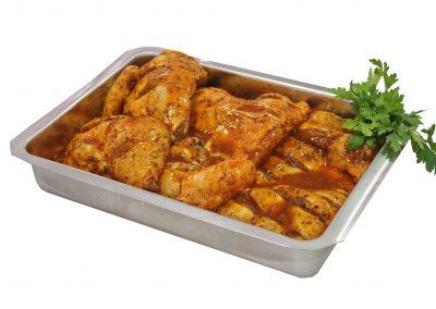 Μισό κοτόπουλο παϊδάκια barbeque
