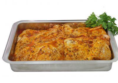 Μπούτια κοτόπουλου barbeque
